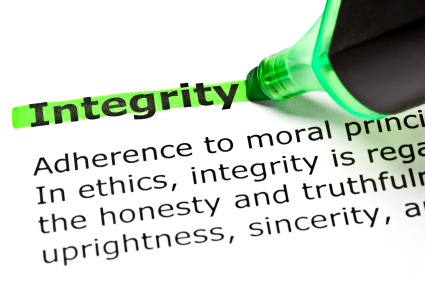 Lisa Larter Integrity in Business