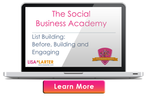 TSBA - Lisa Larter List Building Workshop