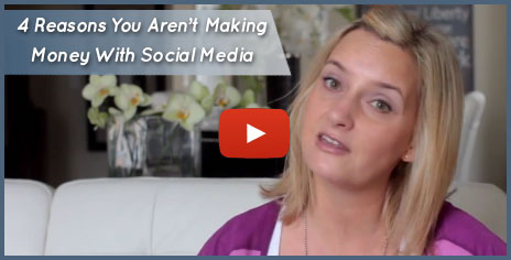 Lisa Larter - 4 Reason You Aren't Making Money with Social Media