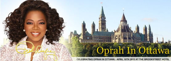 Oprah in Ottawa Celebration
