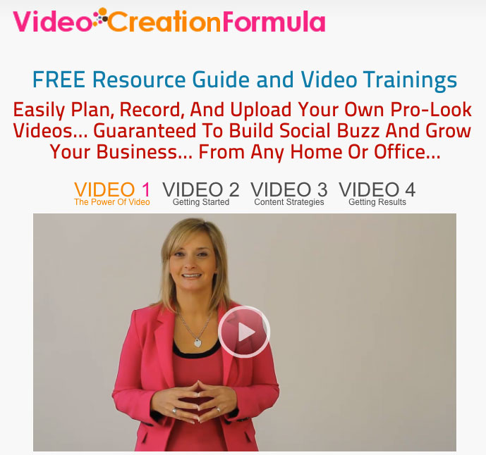 Lisa Larter Video Creation Formula